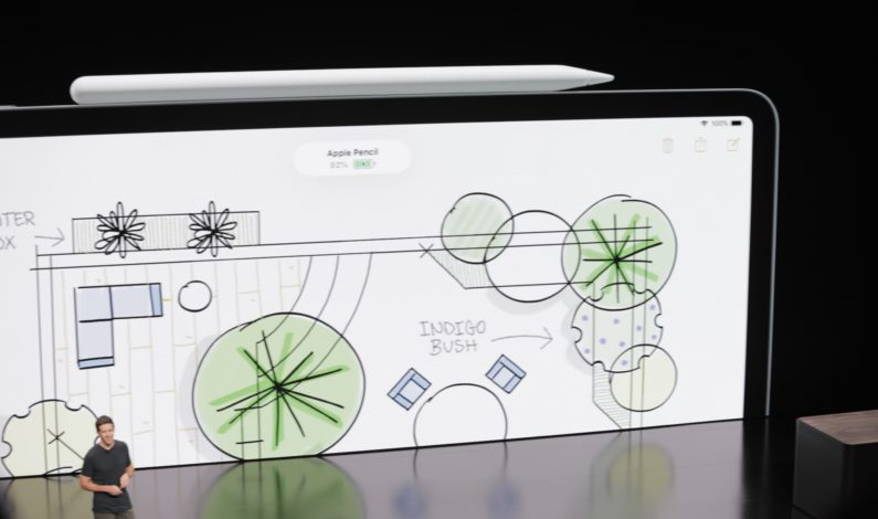 Apple introduces a new magnetic Apple Pencil