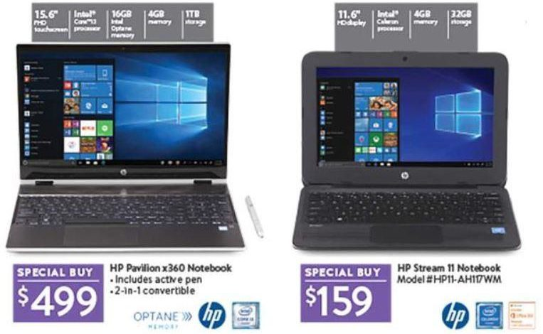Walmart Black Friday ad features $99 Chromebook, $89 Windows 2-in-1 laptop