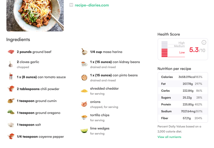 Whisk's AI-powered recipe app lets you send the ingredients to your door