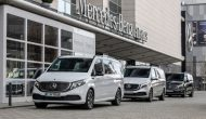 Mercedes-Benz launches sales of its premium all-electric EQV van