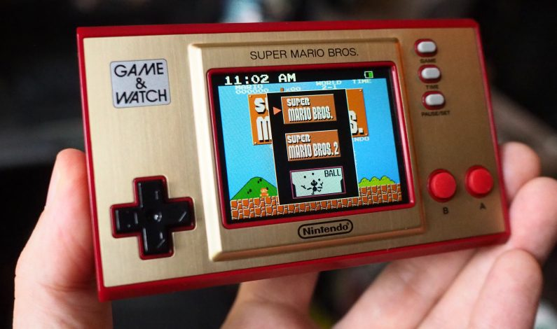 Nintendo's Mario Game & Watch is a choice gaming stocking stuffer