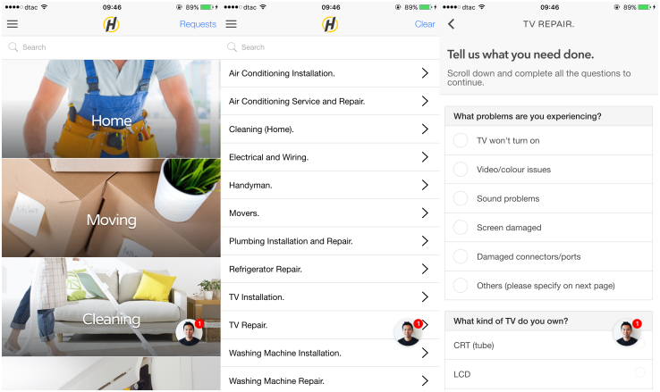ServisHero, a mobile app for finding local services in Southeast Asia, lands $2.7M